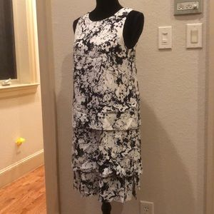 Banana Republic spatter paint dress